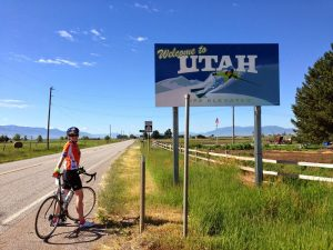MS Bike ride at the Utah border, Best Dam Bike Ride